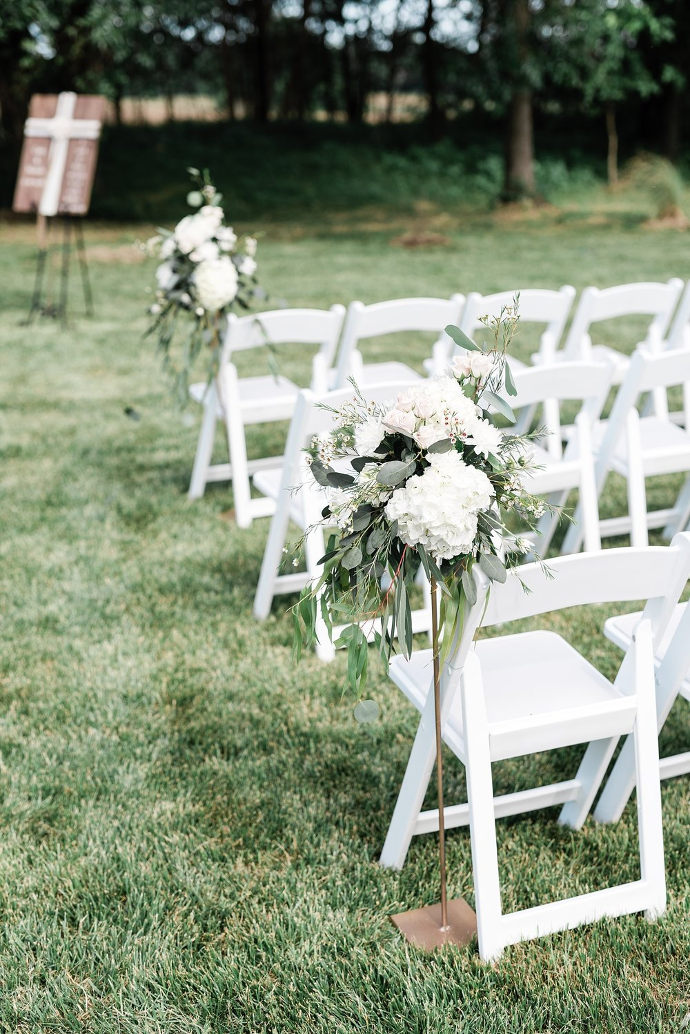 Stunning Heartfelt, Elegant, Fine Art, Chic, Outdoor Spring Wedding with Blush, Cream, Greenery, Rose Gold, and Sequins at Emerson Fields Venue by Kelsi Kliethermes Photography_0042.jpg