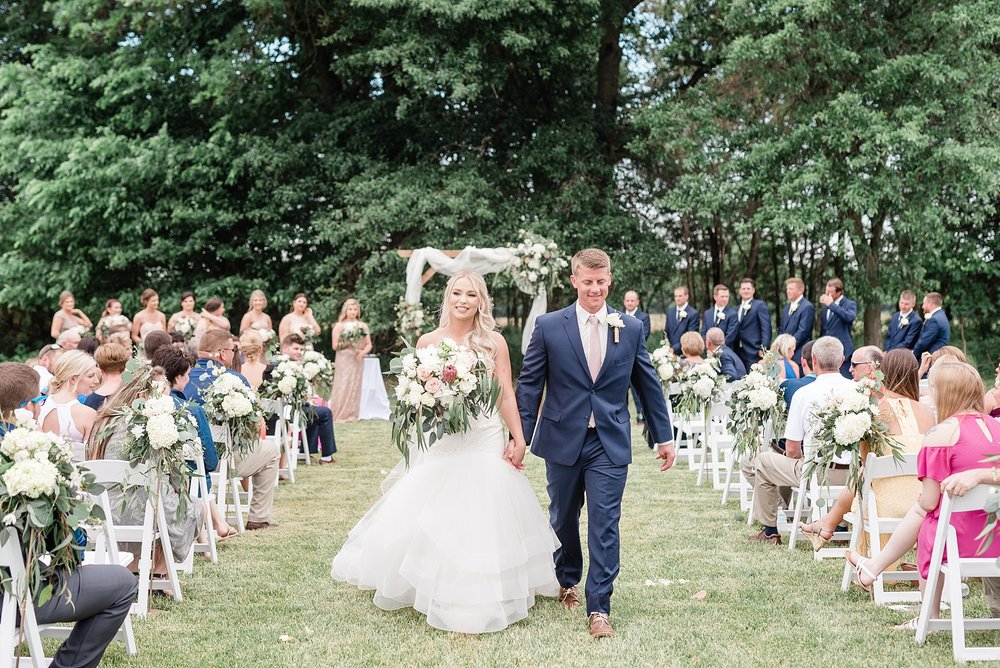 Stunning Heartfelt, Elegant, Fine Art, Chic, Outdoor Spring Wedding with Blush, Cream, Greenery, Rose Gold, and Sequins at Emerson Fields Venue by Kelsi Kliethermes Photography_0054.jpg