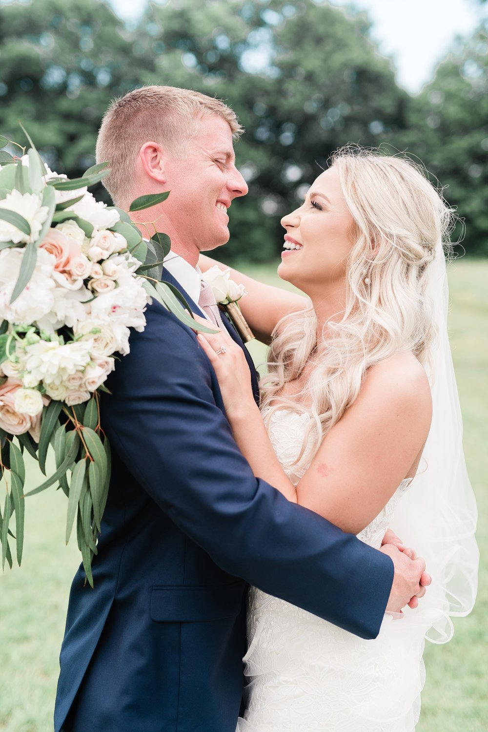 Stunning Heartfelt, Elegant, Fine Art, Chic, Outdoor Spring Wedding with Blush, Cream, Greenery, Rose Gold, and Sequins at Emerson Fields Venue by Kelsi Kliethermes Photography_0058.jpg