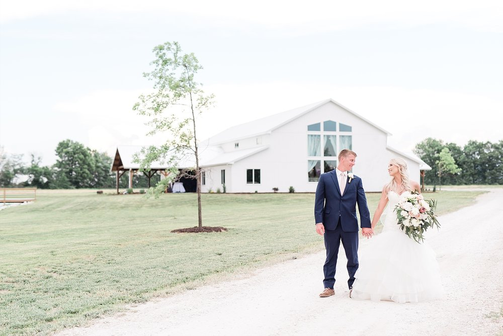 Stunning Heartfelt, Elegant, Fine Art, Chic, Outdoor Spring Wedding with Blush, Cream, Greenery, Rose Gold, and Sequins at Emerson Fields Venue by Kelsi Kliethermes Photography_0060.jpg