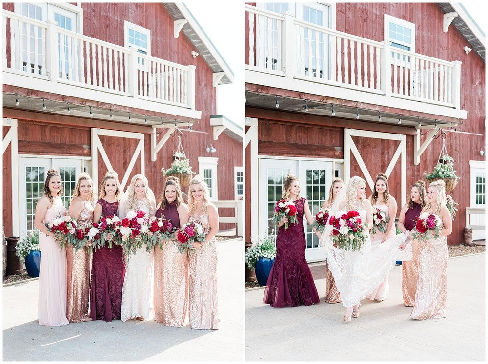 Light and Airy Spring Shabby Chic Wedding at Bessie's Barn Iowa by Kelsi Kliethermes Photography_0006.jpg