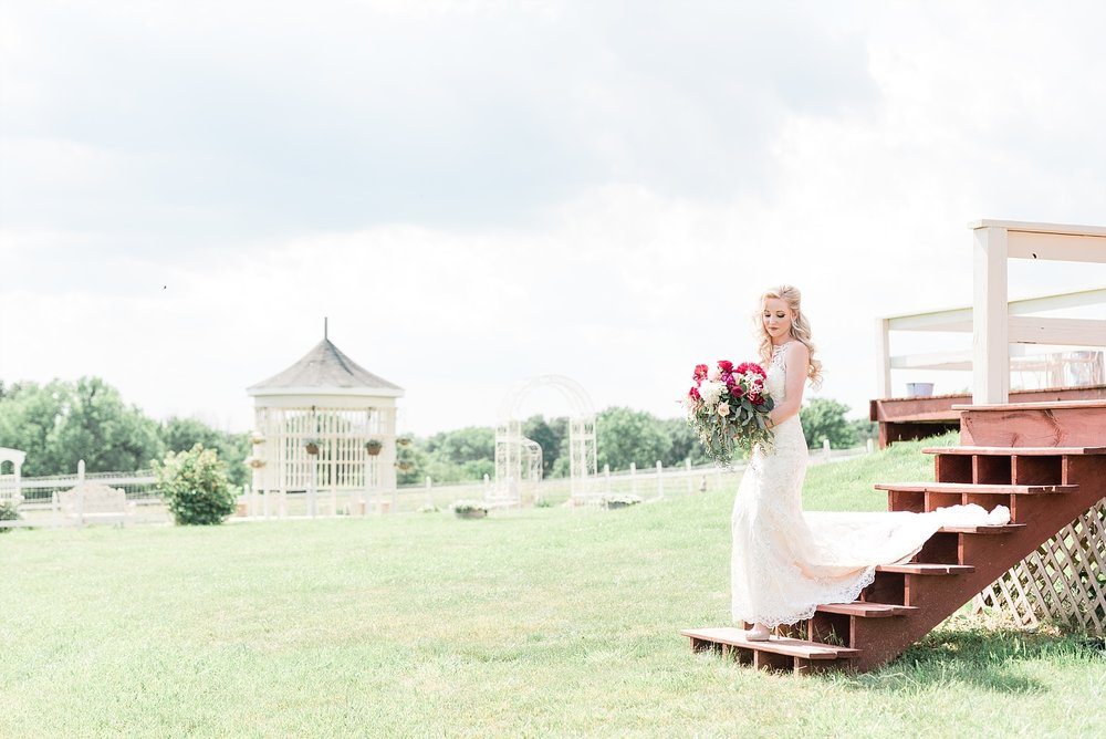 Light and Airy Spring Shabby Chic Wedding at Bessie's Barn Iowa by Kelsi Kliethermes Photography_0011.jpg