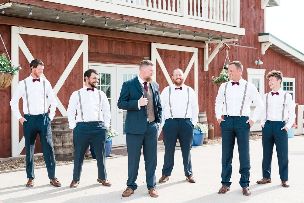 Light and Airy Spring Shabby Chic Wedding at Bessie's Barn Iowa by Kelsi Kliethermes Photography_0026.jpg