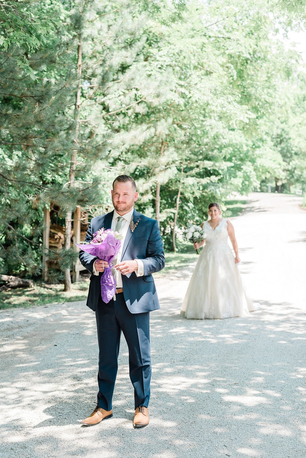 Montana Couple Married Lakeside with Mountain Themed Wedding At Little Piney Lodge Hermann MO by Kelsi Kliethermes Photography_0009.jpg