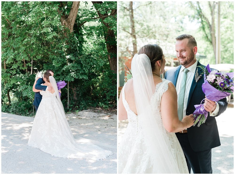 Montana Couple Married Lakeside with Mountain Themed Wedding At Little Piney Lodge Hermann MO by Kelsi Kliethermes Photography_0011.jpg