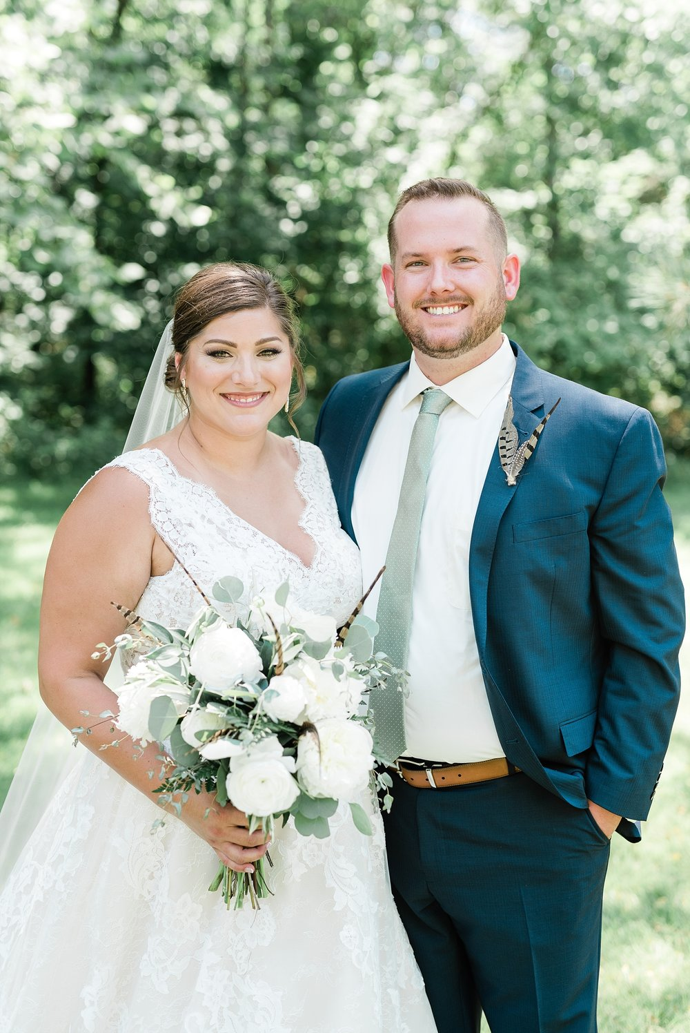 Montana Couple Married Lakeside with Mountain Themed Wedding At Little Piney Lodge Hermann MO by Kelsi Kliethermes Photography_0014.jpg