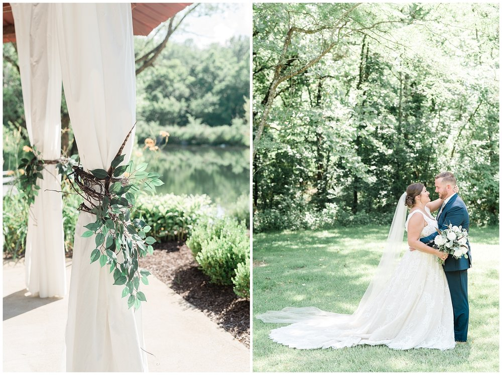 Montana Couple Married Lakeside with Mountain Themed Wedding At Little Piney Lodge Hermann MO by Kelsi Kliethermes Photography_0016.jpg