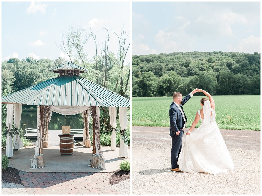Montana Couple Married Lakeside with Mountain Themed Wedding At Little Piney Lodge Hermann MO by Kelsi Kliethermes Photography_0017.jpg