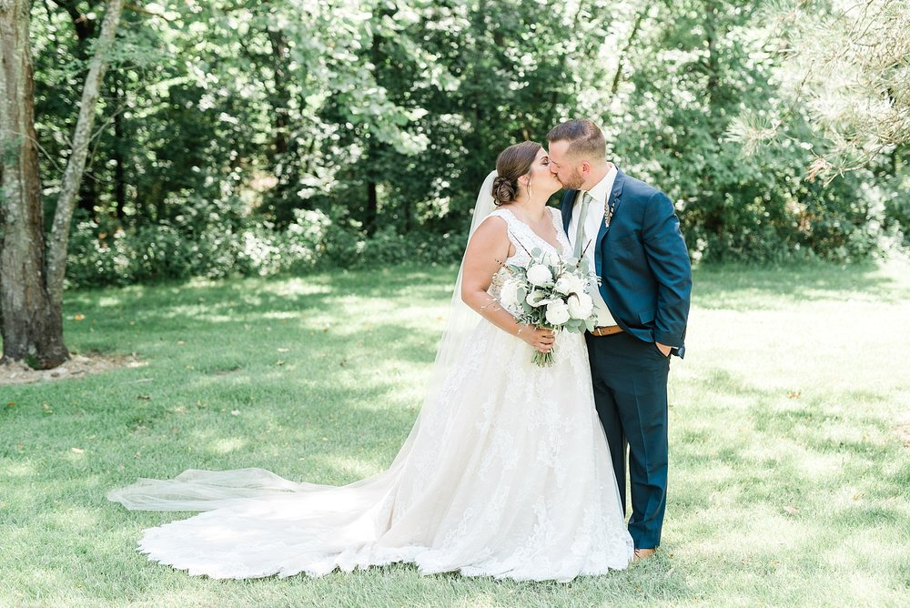 Montana Couple Married Lakeside with Mountain Themed Wedding At Little Piney Lodge Hermann MO by Kelsi Kliethermes Photography_0018.jpg