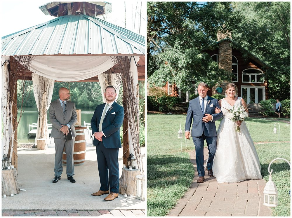 Montana Couple Married Lakeside with Mountain Themed Wedding At Little Piney Lodge Hermann MO by Kelsi Kliethermes Photography_0028.jpg