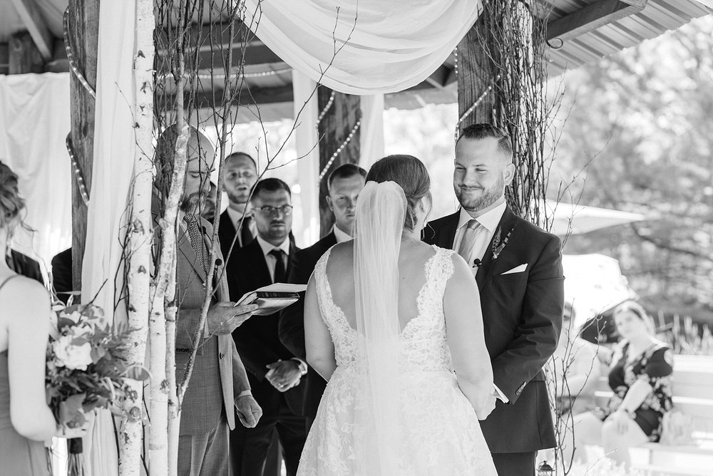 Montana Couple Married Lakeside with Mountain Themed Wedding At Little Piney Lodge Hermann MO by Kelsi Kliethermes Photography_0036.jpg