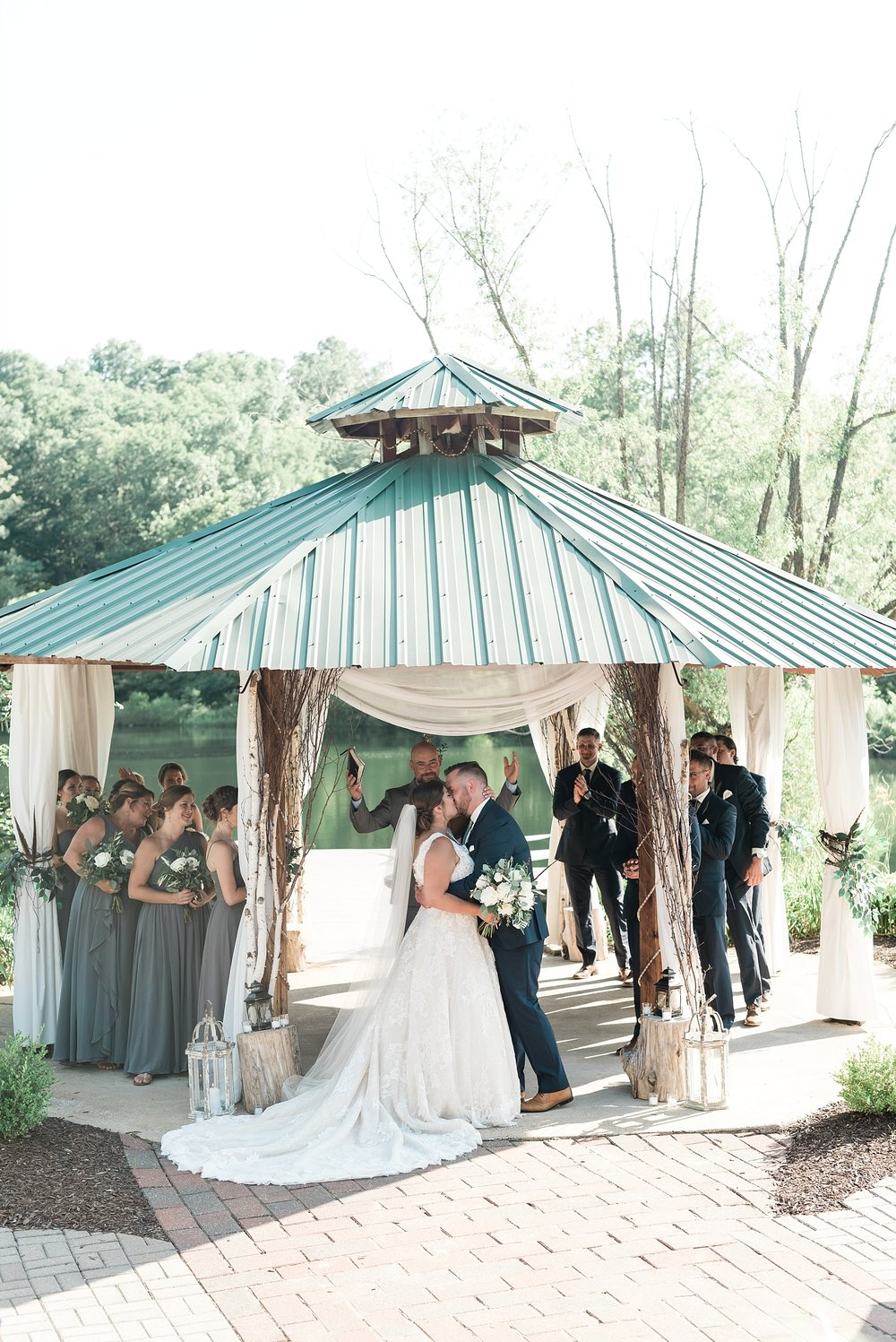 Montana Couple Married Lakeside with Mountain Themed Wedding At Little Piney Lodge Hermann MO by Kelsi Kliethermes Photography_0037.jpg