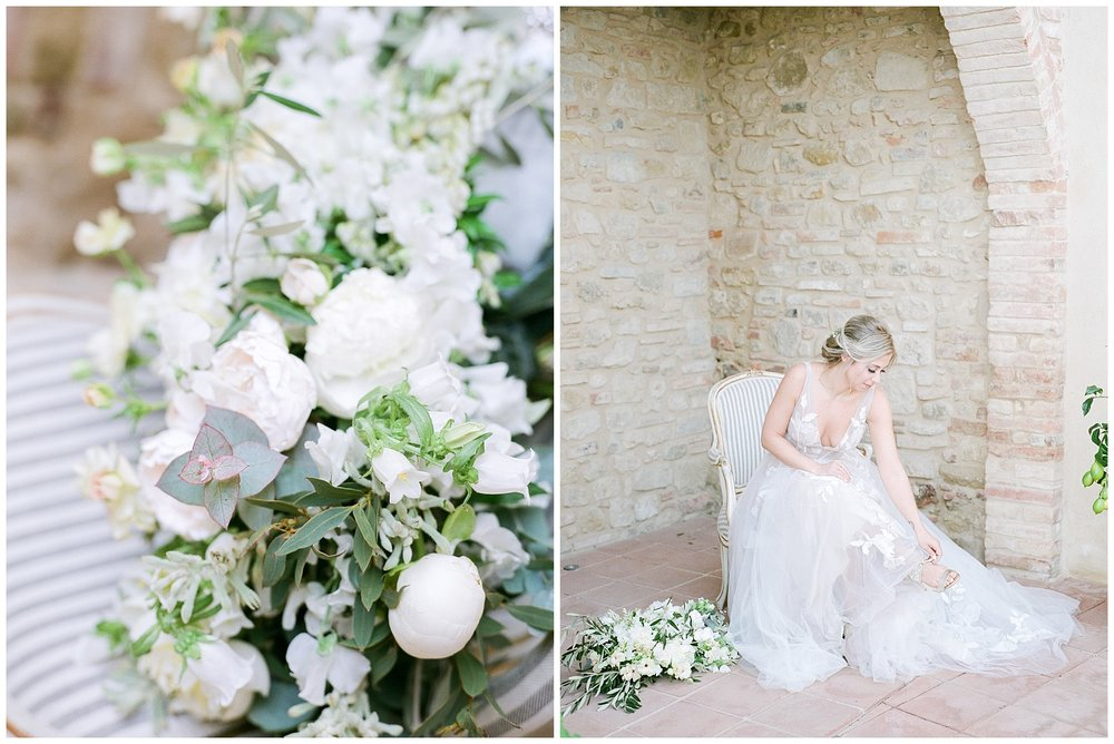 All White Destination Wedding in the Hills of Tuscany Italy at Estate Borgo Petrognano by Kelsi Kliethermes Photography_0028.jpg
