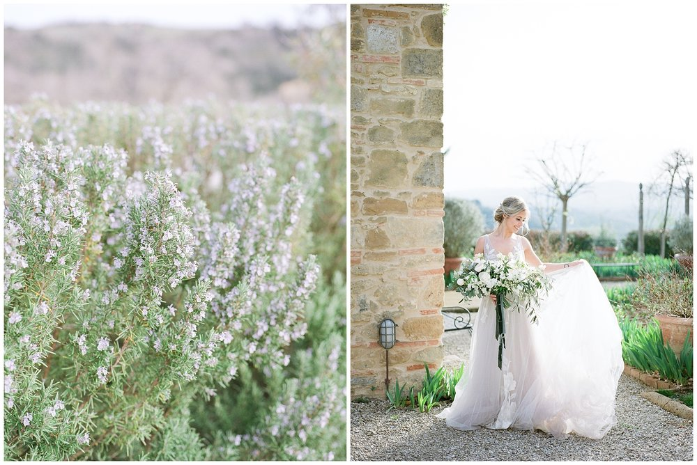 All White Destination Wedding in the Hills of Tuscany Italy at Estate Borgo Petrognano by Kelsi Kliethermes Photography_0031.jpg