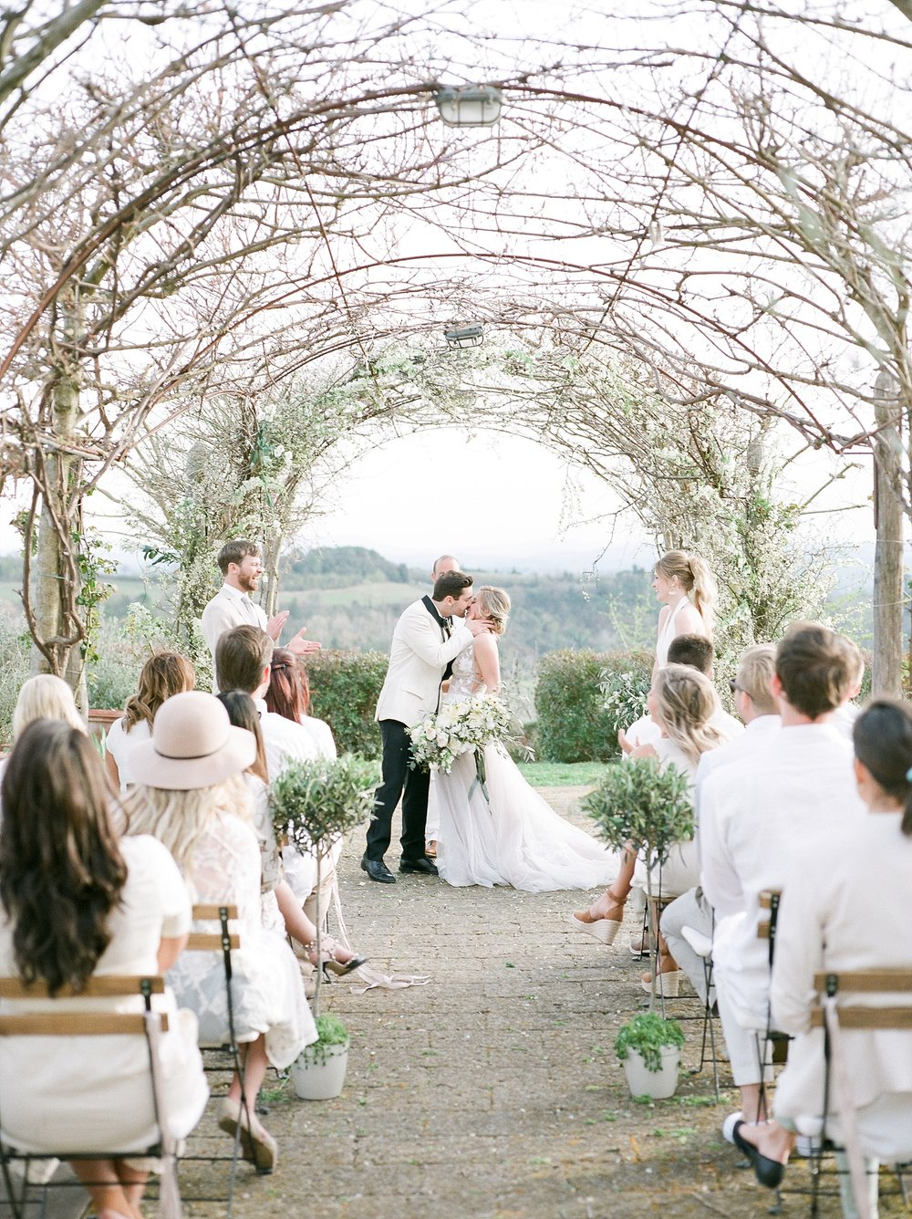 All White Destination Wedding in the Hills of Tuscany Italy at Estate Borgo Petrognano by Kelsi Kliethermes Photography_0048.jpg