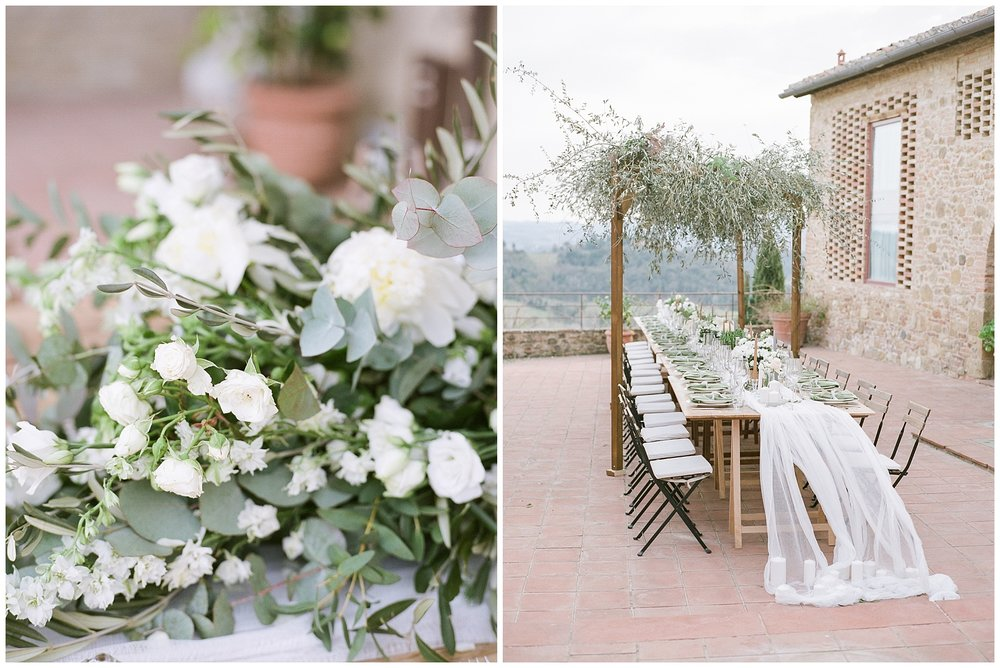 All White Destination Wedding in the Hills of Tuscany Italy at Estate Borgo Petrognano by Kelsi Kliethermes Photography_0056.jpg
