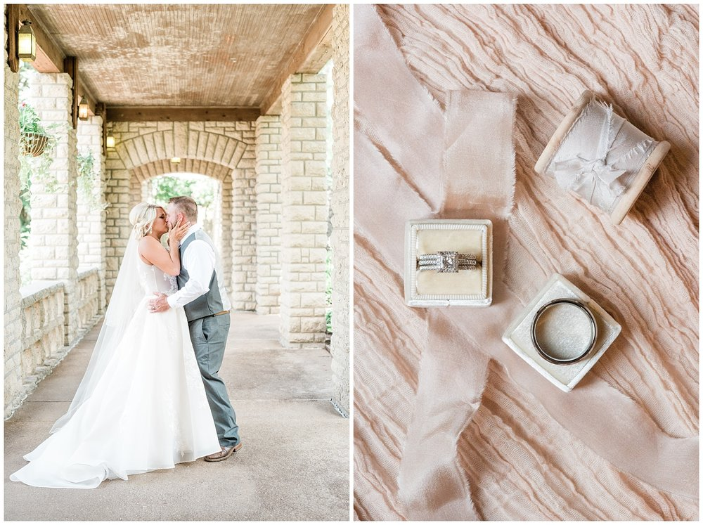 Rose Gold, White, and Greenery High Class Summer Wedding at The Millbottom in Downtown Jefferson City by Kelsi Kliethermes Photography_0002.jpg