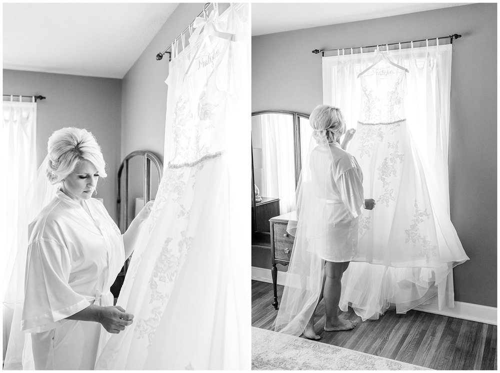 Rose Gold, White, and Greenery High Class Summer Wedding at The Millbottom in Downtown Jefferson City by Kelsi Kliethermes Photography_0005.jpg