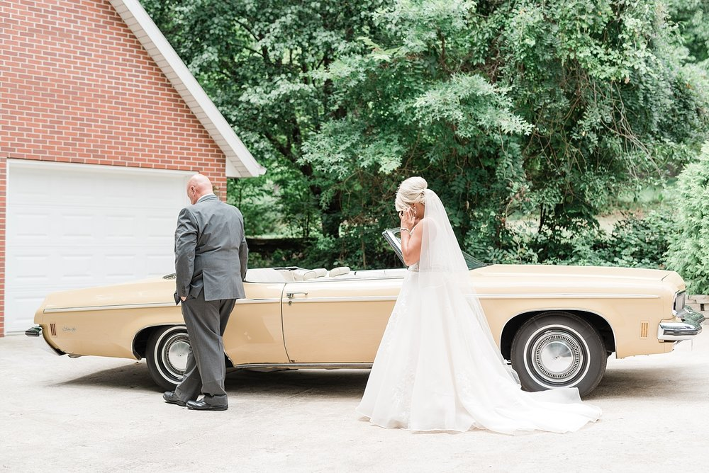 Rose Gold, White, and Greenery High Class Summer Wedding at The Millbottom in Downtown Jefferson City by Kelsi Kliethermes Photography_0015.jpg
