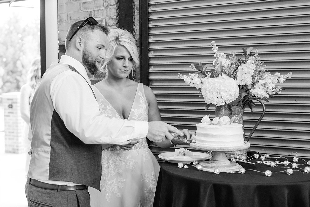 Rose Gold, White, and Greenery High Class Summer Wedding at The Millbottom in Downtown Jefferson City by Kelsi Kliethermes Photography_0046.jpg