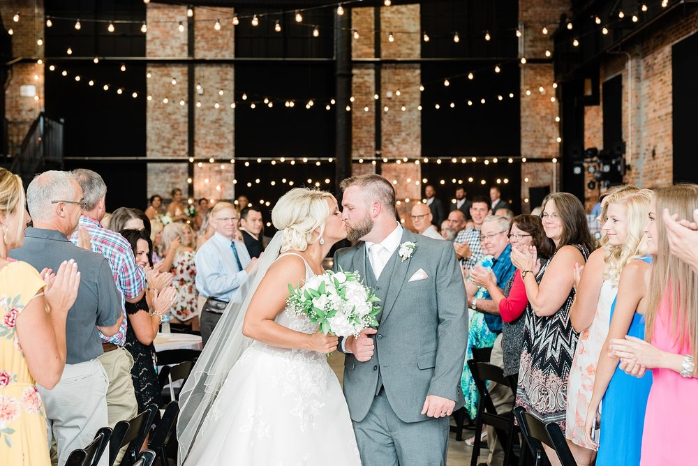 Rose Gold, White, and Greenery High Class Summer Wedding at The Millbottom in Downtown Jefferson City by Kelsi Kliethermes Photography_0056.jpg