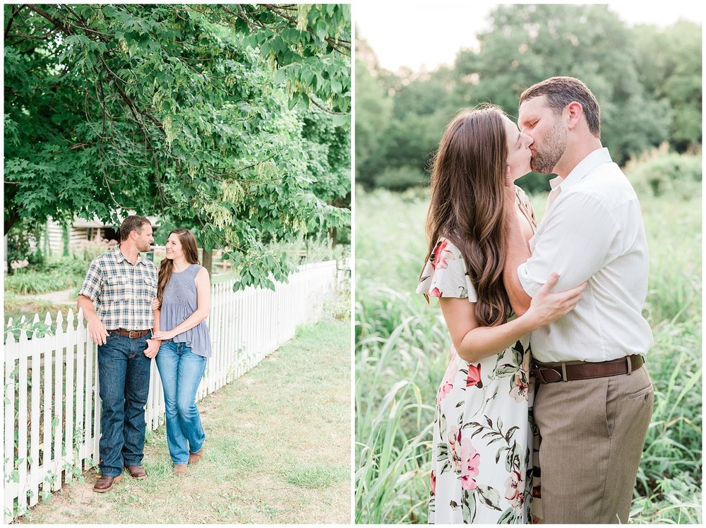 Sunset Engagement Session at Faust Park Chesterfield Missouri by Kelsi Kliethermes Photography_0016.jpg