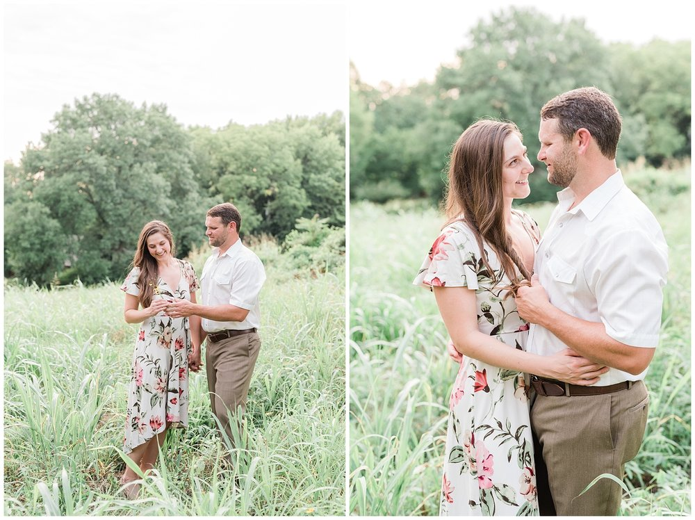 Sunset Engagement Session at Faust Park Chesterfield Missouri by Kelsi Kliethermes Photography_0017.jpg
