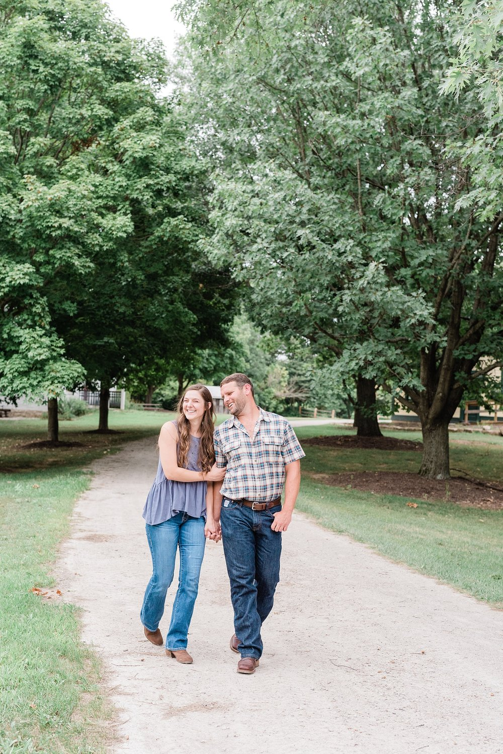 Sunset Engagement Session at Faust Park Chesterfield Missouri by Kelsi Kliethermes Photography_0020.jpg