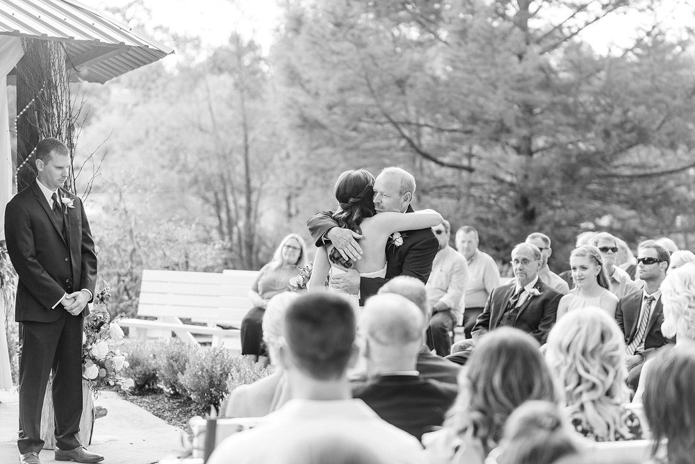 Romantic Summer Sunset Wedding Ceremony at Little Piney Lodge St. Louis Missouri by Kelsi Kliethermes Photography Fine Art Photographer_0008.jpg