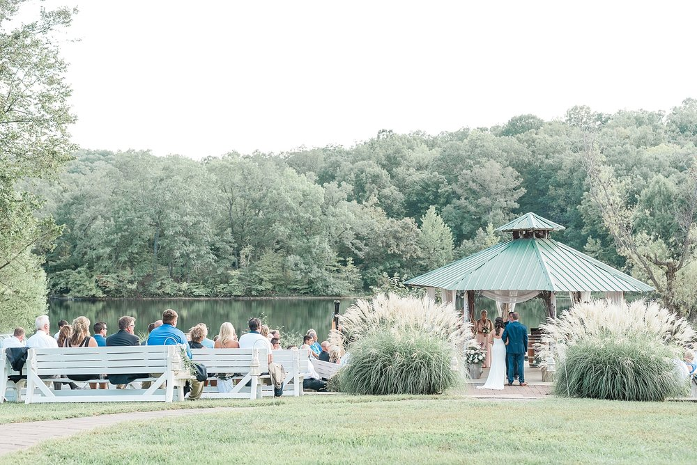 Romantic Summer Sunset Wedding Ceremony at Little Piney Lodge St. Louis Missouri by Kelsi Kliethermes Photography Fine Art Photographer_0009.jpg
