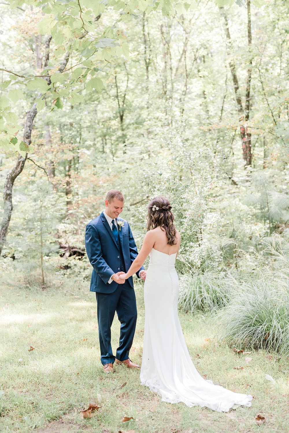 Romantic Summer Sunset Wedding Ceremony at Little Piney Lodge St. Louis Missouri by Kelsi Kliethermes Photography Fine Art Photographer_0031.jpg
