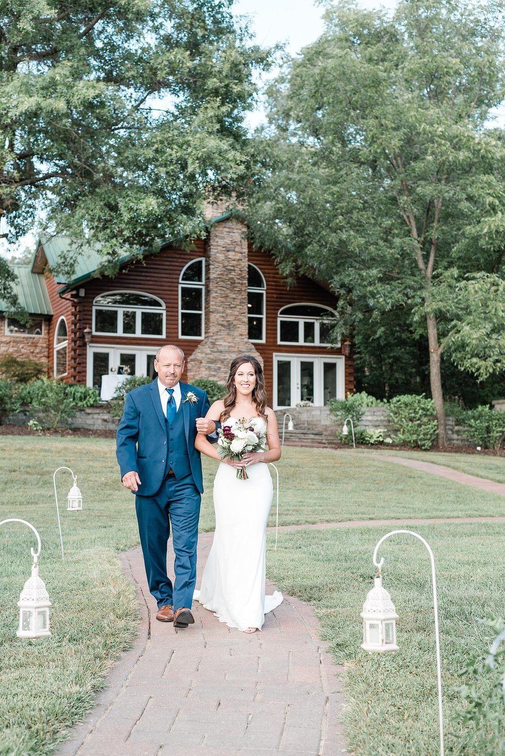 Romantic Summer Sunset Wedding Ceremony at Little Piney Lodge St. Louis Missouri by Kelsi Kliethermes Photography Fine Art Photographer_0043.jpg