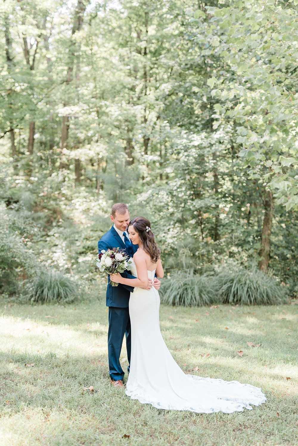 Romantic Summer Sunset Wedding Ceremony at Little Piney Lodge St. Louis Missouri by Kelsi Kliethermes Photography Fine Art Photographer_0047.jpg