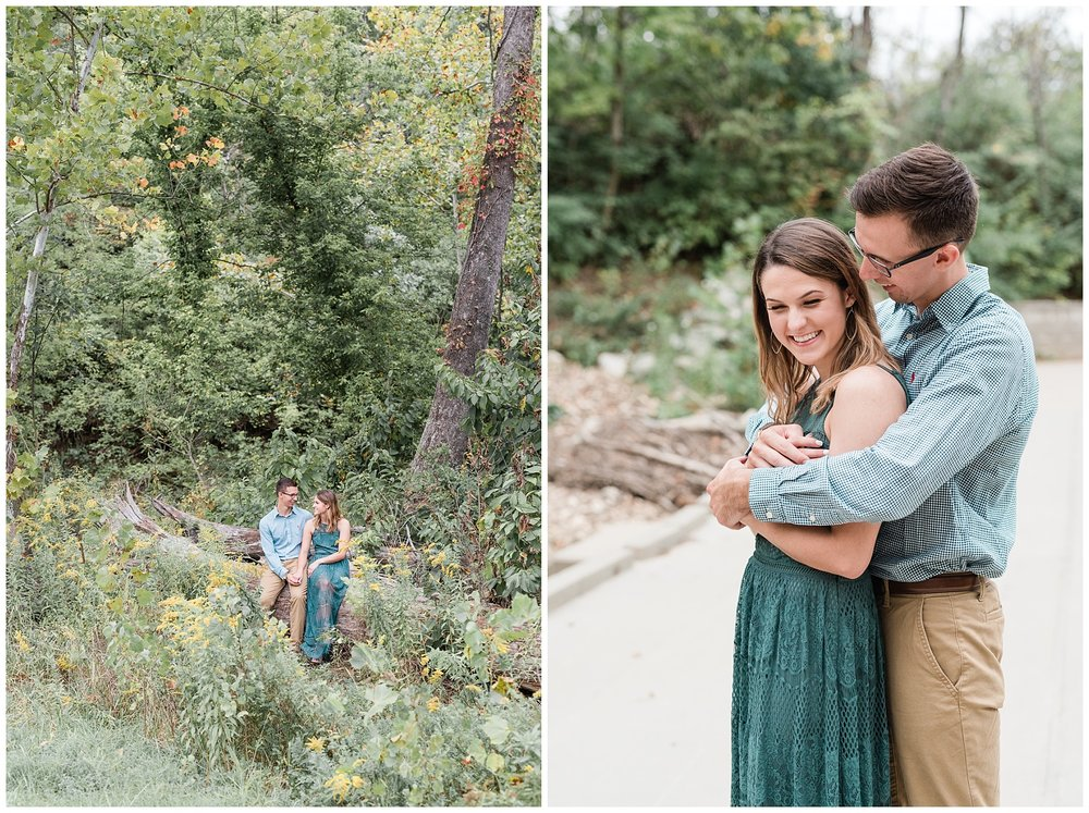 Autumn Engagement Session at Grindstone Nature Trail Columbia Missouri by Kelsi Kliethermes Photography_0005.jpg