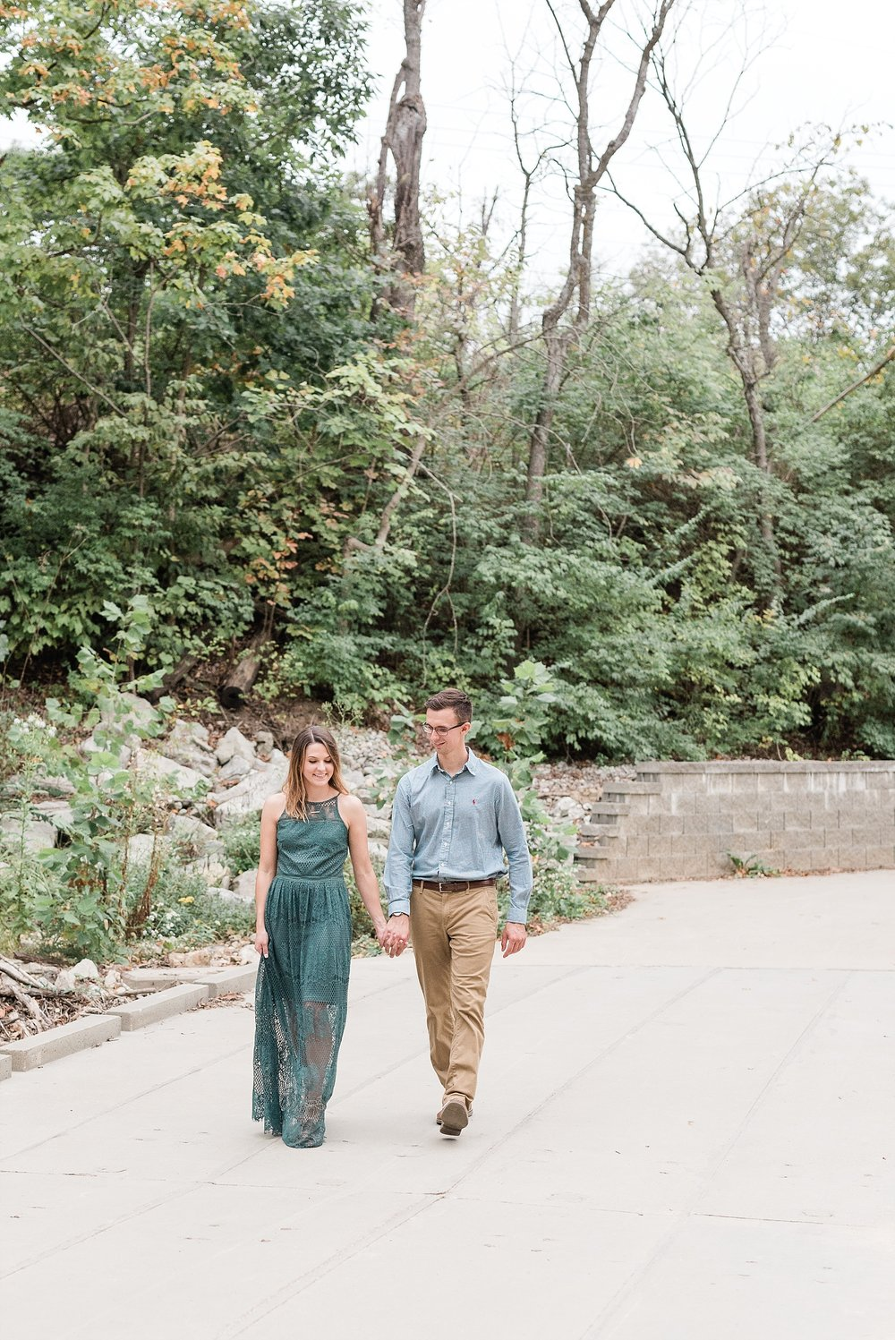 Autumn Engagement Session at Grindstone Nature Trail Columbia Missouri by Kelsi Kliethermes Photography_0006.jpg