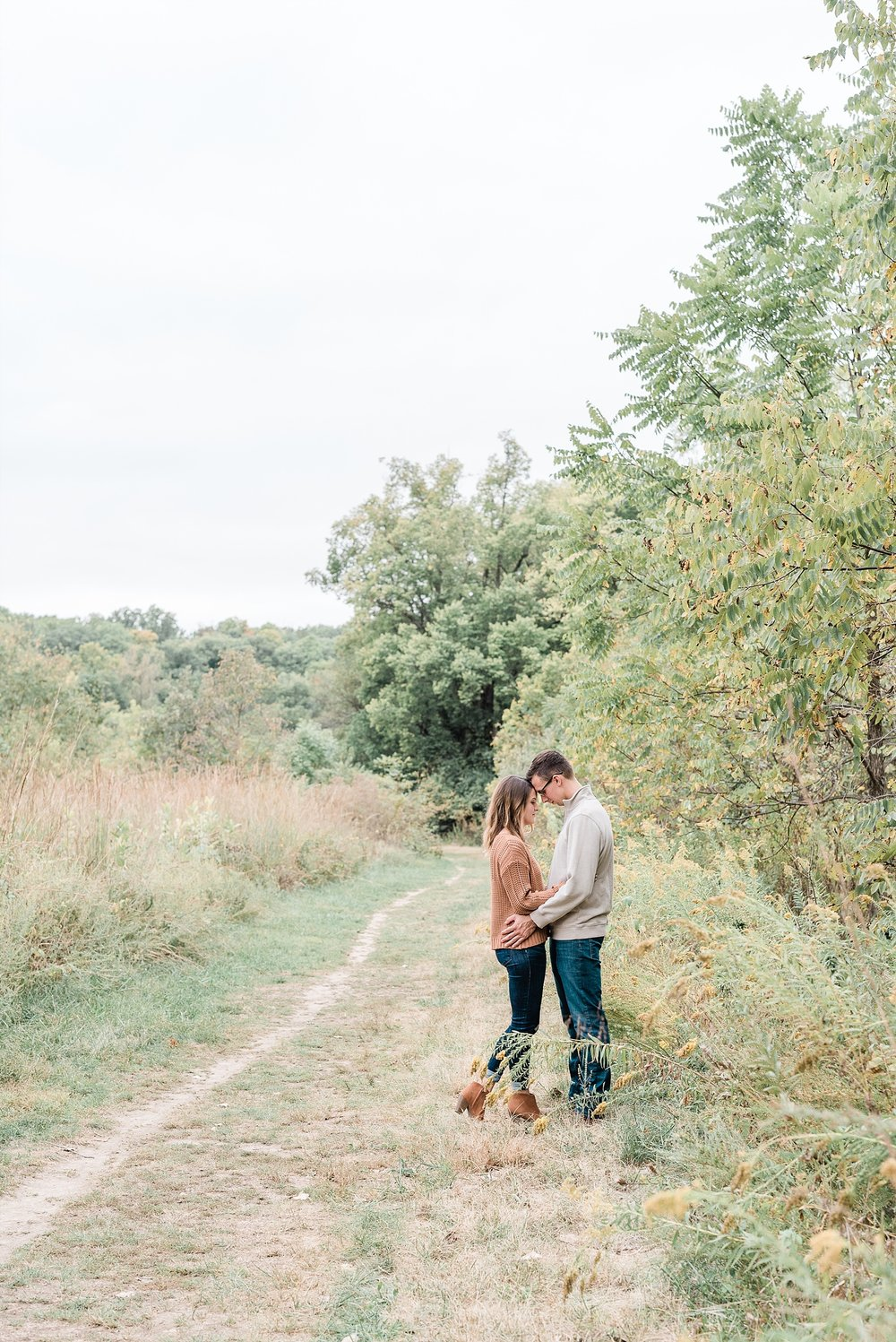Autumn Engagement Session at Grindstone Nature Trail Columbia Missouri by Kelsi Kliethermes Photography_0008.jpg