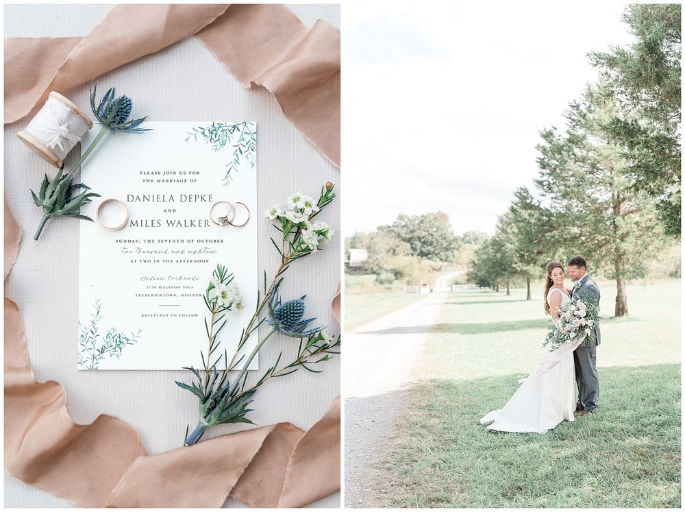 Fine Art Sunset Themed Wedding in Autumn at Dodson Orchards by Kelsi Kliethermes Photography_0031.jpg