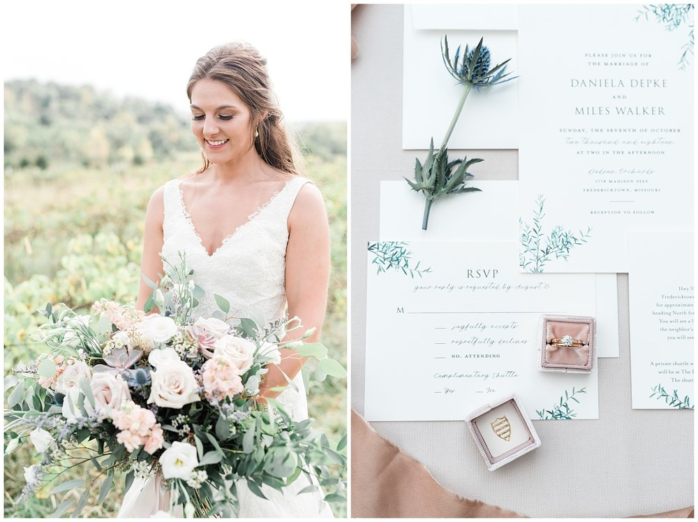 Fine Art Sunset Themed Wedding in Autumn at Dodson Orchards by Kelsi Kliethermes Photography_0032.jpg