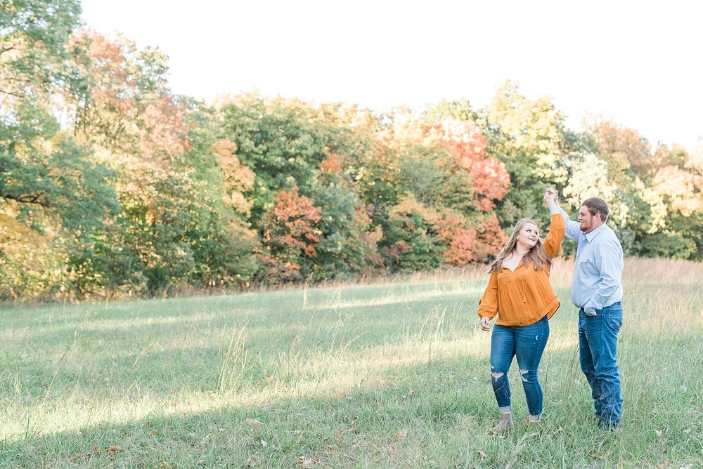 Autumn Engagement Session Sturgeon MO by Kelsi Kliethermes Photography_0003.jpg