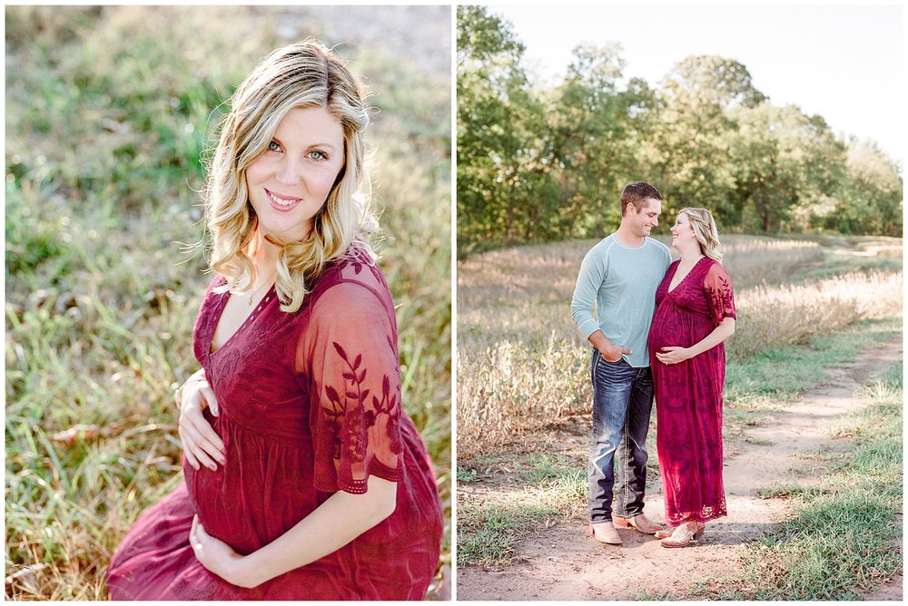 Sunset Maternity Session on Family Farm in Mid Missouri by Kelsi Kliethermes Photography_0007.jpg