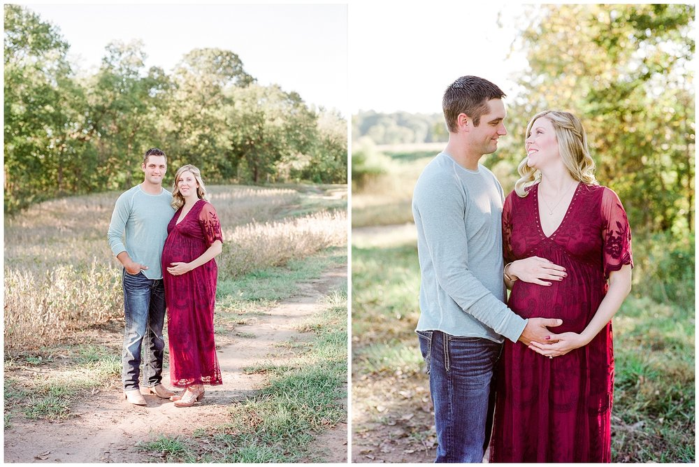 Sunset Maternity Session on Family Farm in Mid Missouri by Kelsi Kliethermes Photography_0008.jpg