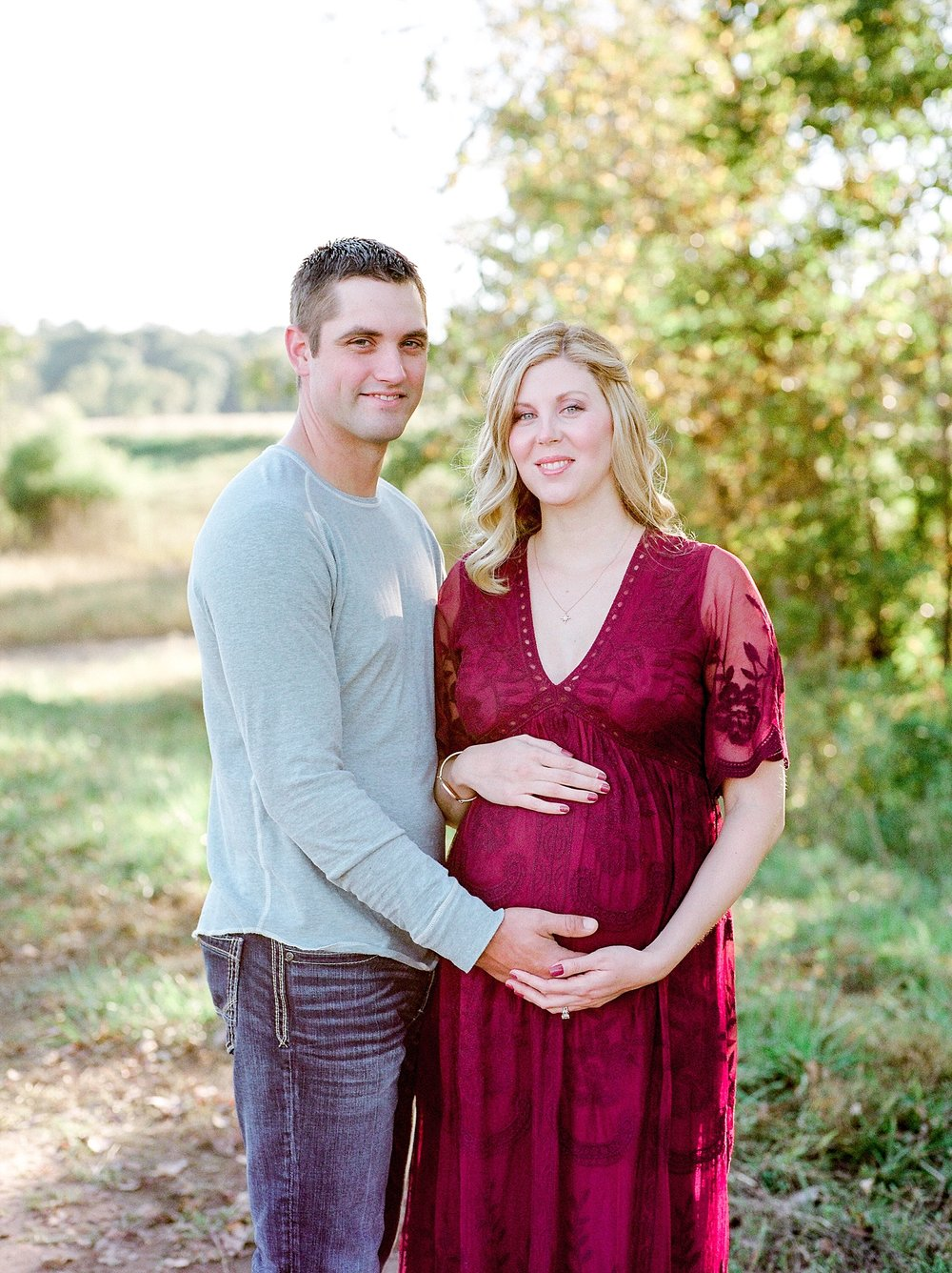 Sunset Maternity Session on Family Farm in Mid Missouri by Kelsi Kliethermes Photography_0010.jpg
