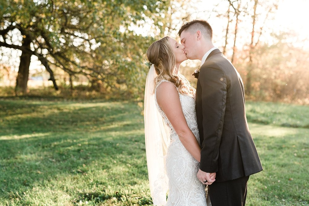 Golden Autumn Outdoor Wedding with Ivory, Bergundy, and Blush Color Palette at Blue Bell Farms  by Kelsi Kliethermes Photography_0033.jpg