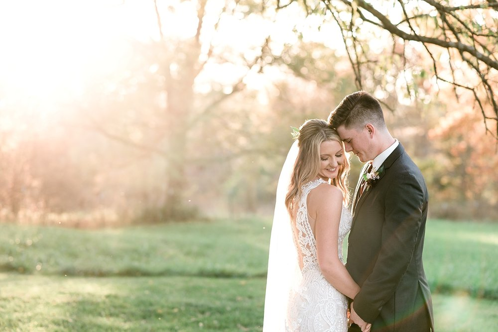 Golden Autumn Outdoor Wedding with Ivory, Bergundy, and Blush Color Palette at Blue Bell Farms  by Kelsi Kliethermes Photography_0034.jpg