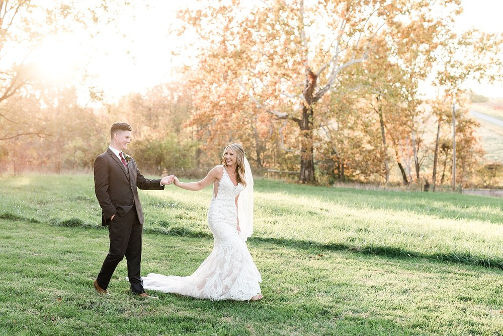 Golden Autumn Outdoor Wedding with Ivory, Bergundy, and Blush Color Palette at Blue Bell Farms  by Kelsi Kliethermes Photography_0035.jpg