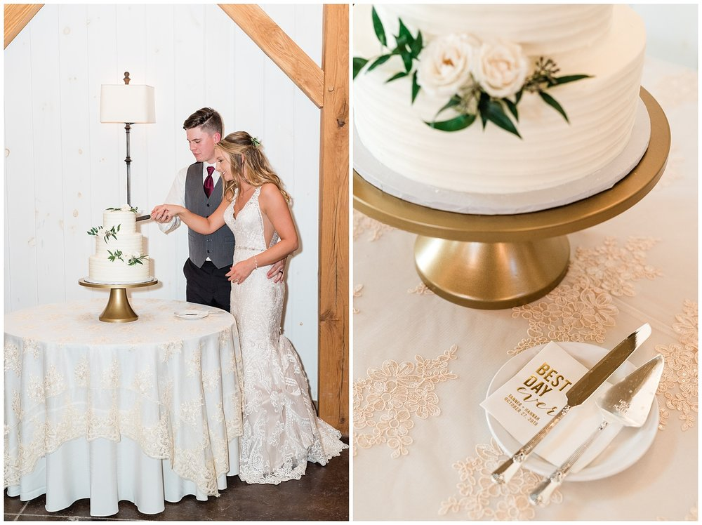 Golden Autumn Outdoor Wedding with Ivory, Bergundy, and Blush Color Palette at Blue Bell Farms  by Kelsi Kliethermes Photography_0041.jpg