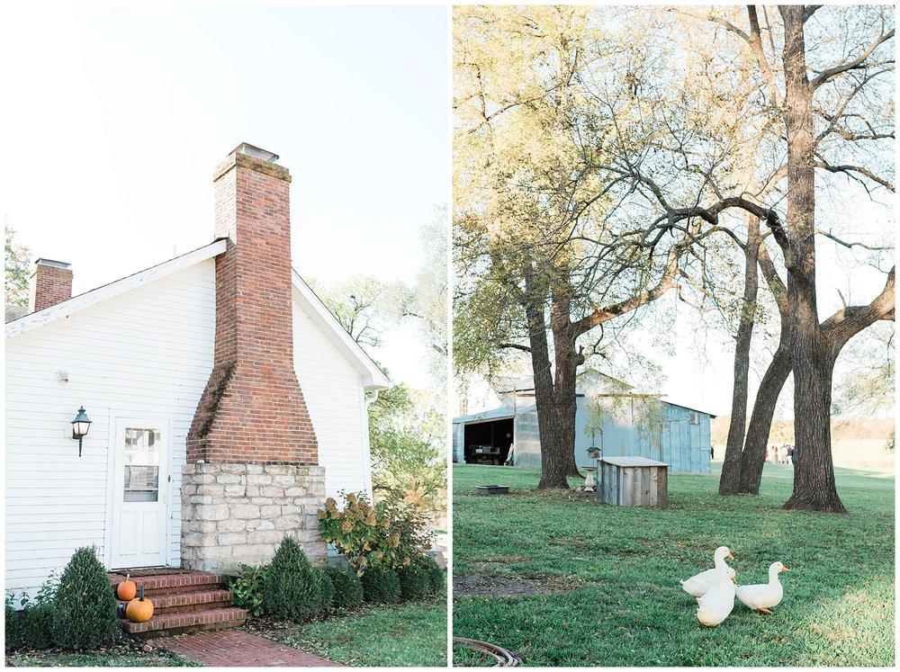 Golden Autumn Outdoor Wedding with Ivory, Bergundy, and Blush Color Palette at Blue Bell Farms  by Kelsi Kliethermes Photography_0045.jpg