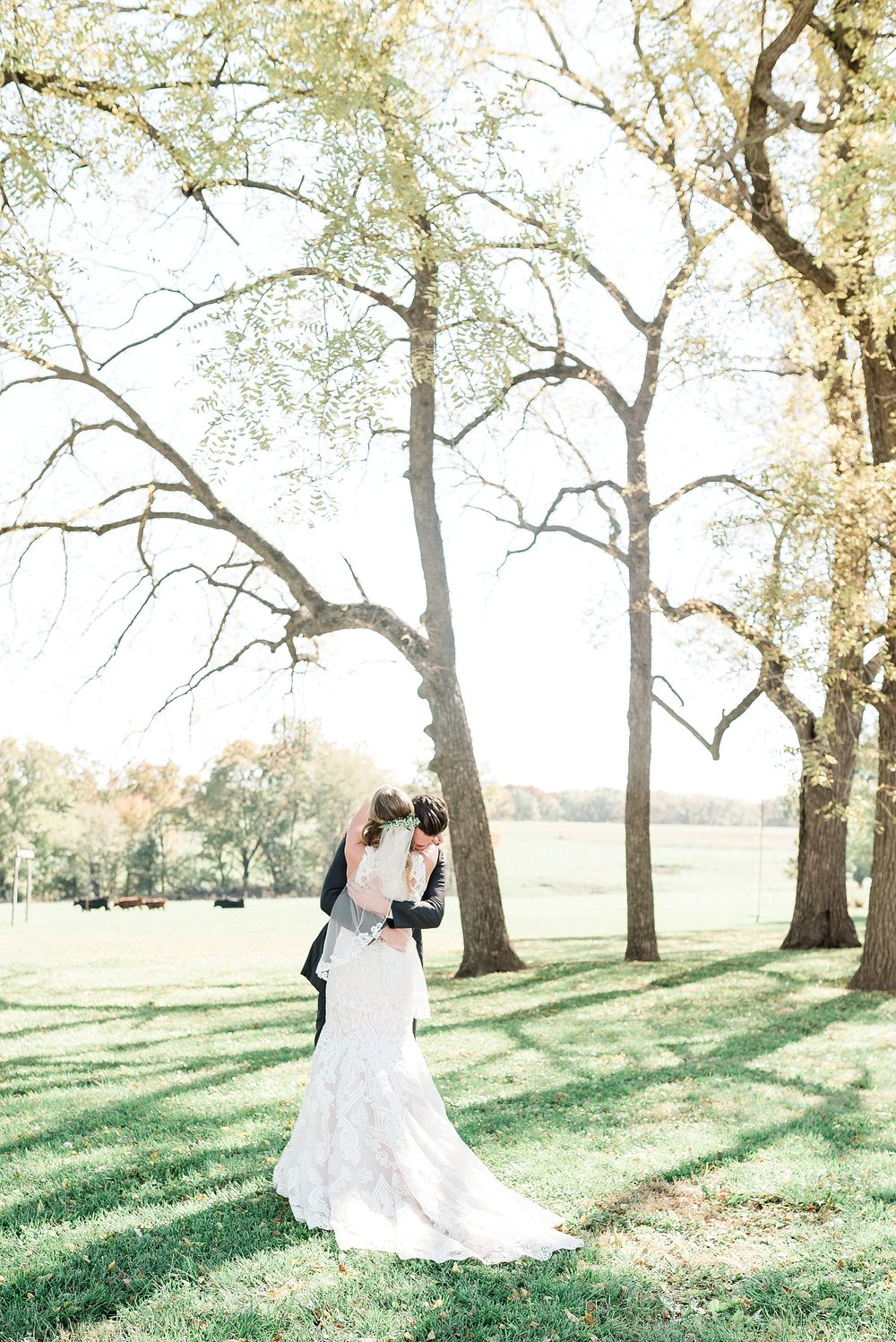 Golden Autumn Outdoor Wedding with Ivory, Bergundy, and Blush Color Palette at Blue Bell Farms  by Kelsi Kliethermes Photography_0065.jpg