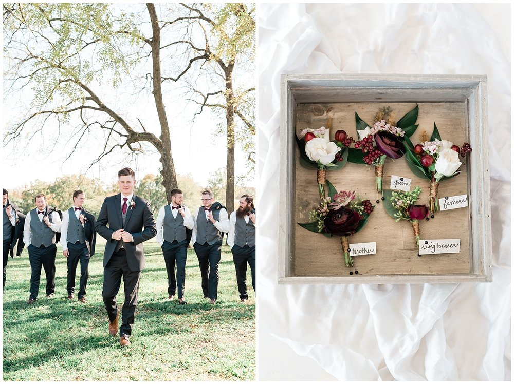 Golden Autumn Outdoor Wedding with Ivory, Bergundy, and Blush Color Palette at Blue Bell Farms  by Kelsi Kliethermes Photography_0067.jpg