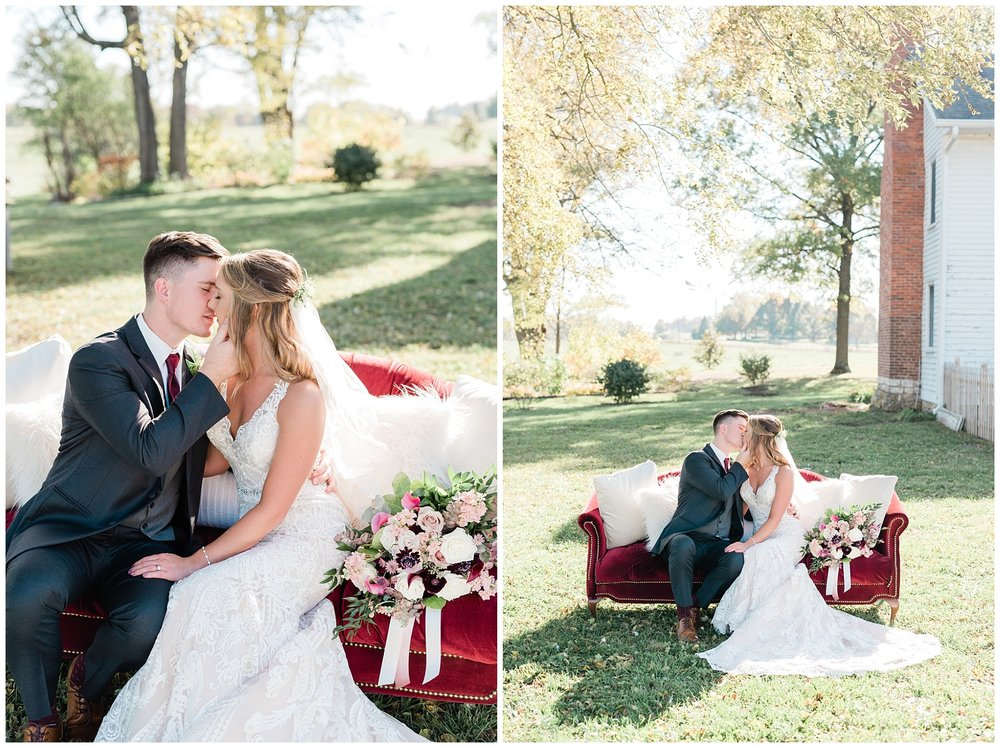 Golden Autumn Outdoor Wedding with Ivory, Bergundy, and Blush Color Palette at Blue Bell Farms  by Kelsi Kliethermes Photography_0068.jpg